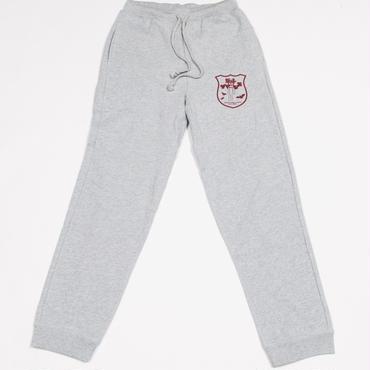 [飯伏幸太]飯伏プロレス研究所 Sweat-pants (heather-gray)