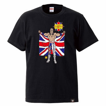 BRITISH BULLDOG tee-shirt(black)