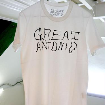 GREAT ANTONIO tee-shirt (White)