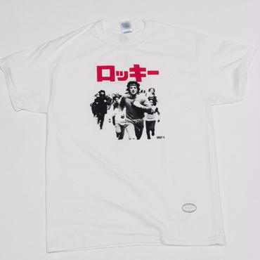 """[伊賀大介]""""ロッキー2"""" tee-shirt(white)[TANGTANG]"""