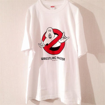 """武藤敬司""""WRESTLING MASTER""""tee-shirt (white)"""
