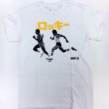 """[伊賀大介]""""ロッキー3"""" tee-shirt(white)[TANGTANG]"""