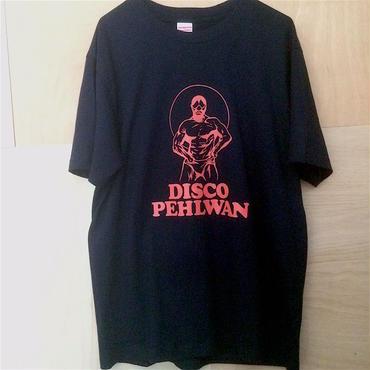 """Tomoo Gokita """"DISCO PEHLWAN"""" tee-shirt(navy)"""