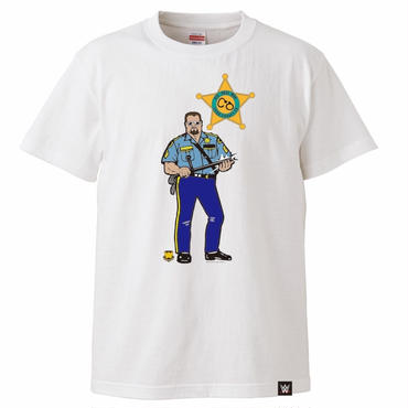 THE BIG BOSS MAN tee-shirt(white)