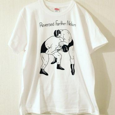 "[五木田智央]""Nelson"" tee-shirt(white)"