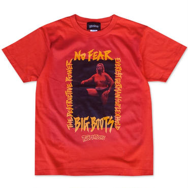 [PRAY FOR 帝王]髙山善廣×TWOPLATOONS tee-shirt(red)