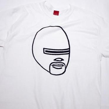 マスクド・ファンク tee-shirt (white)
