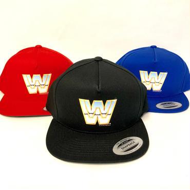 "【WWE】""WWE レジェンドロゴ"" Cap(black・red・blue)"