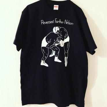 """[五木田智央]""""Nelson"""" tee-shirt(black)"""