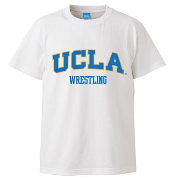 """UCLA WRESTLING"" tee-shirt(white)"