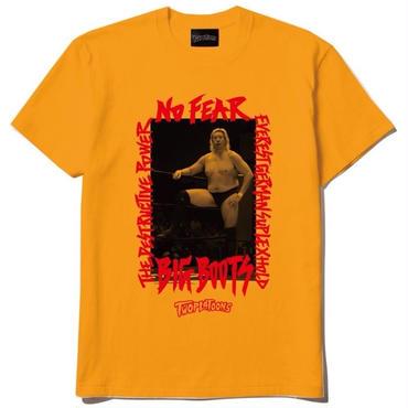 [PRAY FOR 帝王]髙山善廣×TWOPLATOONS tee-shirt(yellow)