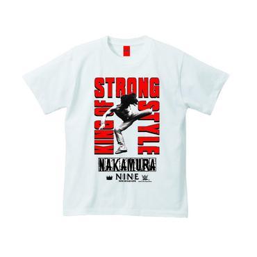 "[NINE RULAZ]NAKAMURA ""Kinsashe"" tee-shirt(white・black)"