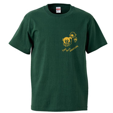 "大橋裕之""PUNK""tee-shirt (ivy-green)"