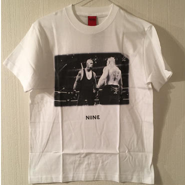 "[NINE RULAZ]""Taker VS Lesnar"" tee-shirt(white)"