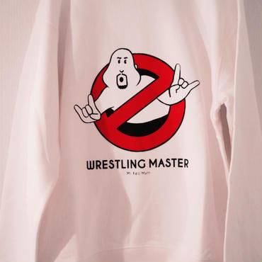 """武藤敬司""""WRESTLING MASTER """"  crew neck sweat (white)"""