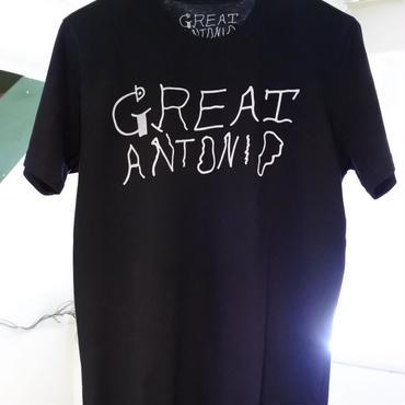 GREAT ANTONIO tee-shirt (Black)