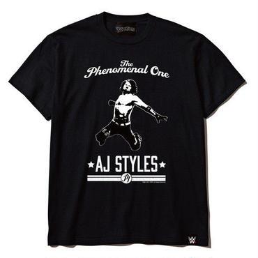 AJ スタイルズ×TWOPLATOONS tee-shirt(black)