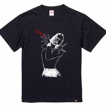 SHINSUKE NAKAMURA × TOMOO GOKITA tee-shirt (black)