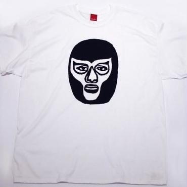 ワンダー・マスク tee-shirt (white)
