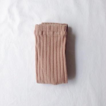 【送料無料】wide rib leggings (beige)