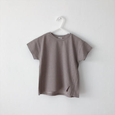 slit  T-shirt (cocoa)