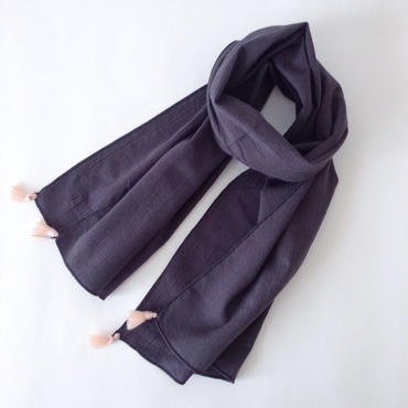 tassel stole(dark gray)
