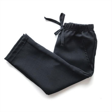 【送料無料】ribbon pants (black)