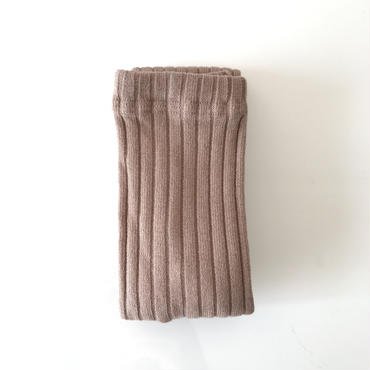 【送料無料】wide rib leggings (beige)