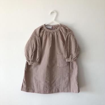 pocket one-piece (beige)