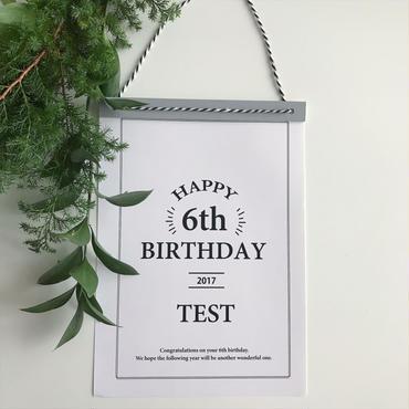 【送料無料】<ペーパーアイテム>HAPPY BIRTHDAY
