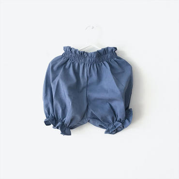 cotton bloomers(blue)