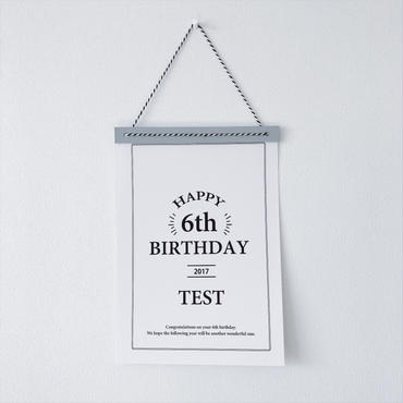 【送料無料】<ペーパーアイテム>HAPPY BIRTHDAY