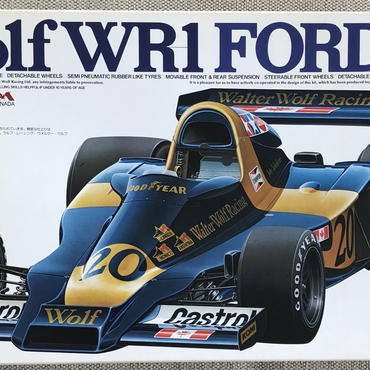 New! TAMIYA 1/12 Wolf WR-1 FORD F-1 BIG SCALE SERIES No.24 F/S from Japan