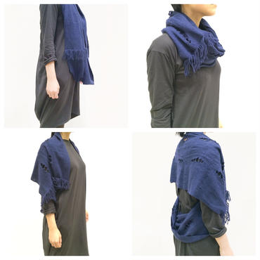 3 styles loop shawl(1511-F)