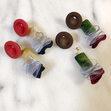 vintage button pierce_AW color