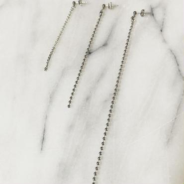 silver chain set pierce