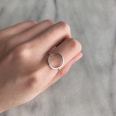 silver925 circle ring
