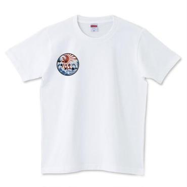 Rising Sun  オリジナルデザイン半袖Tシャツ