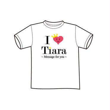 I ♡ Tiara Tシャツ(WHITE)