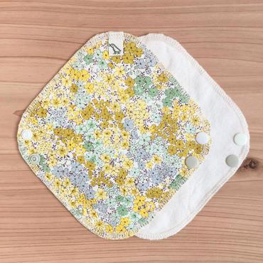 OCネル・布ライナー|小花柄・黄色