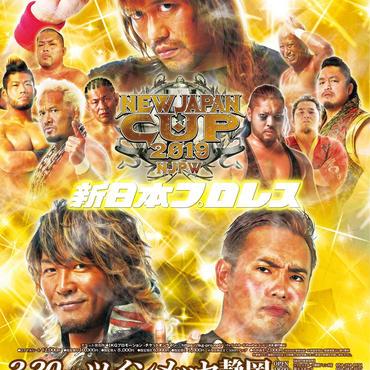 新日本プロレス浜松大会【指定席B】