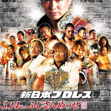 新日本プロレス富士大会【指定席B】
