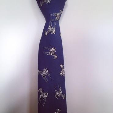 シマウマのネクタイ