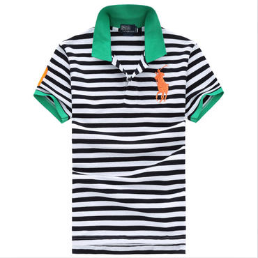 ポロラルフローレン/polo ralph lauren新作 ストライプ ポロシャツ 運動