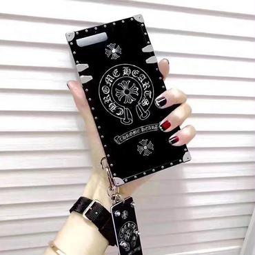 クロムハーツ ★本革手帳型 ★iphone専用ケース/カバー 送料無料XLM5146
