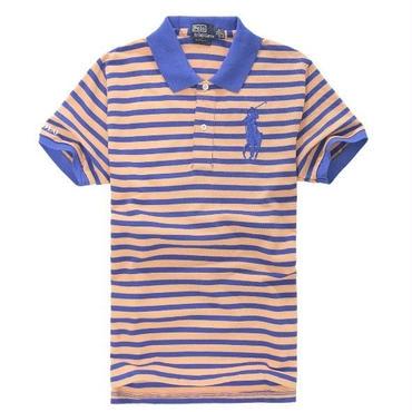 ポロラルフローレン/polo ralph lauren ストライプ ポロシャツ 着心地よい 多色