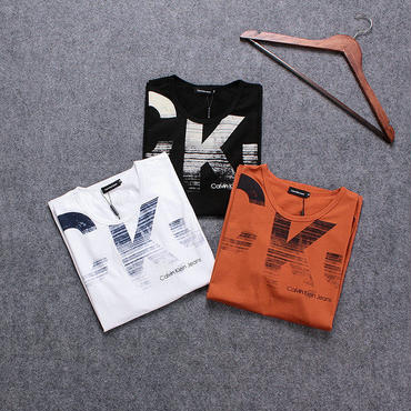 Calvin Klein 3色選択 男女兼用 カップル 半袖 男性用 XHX094