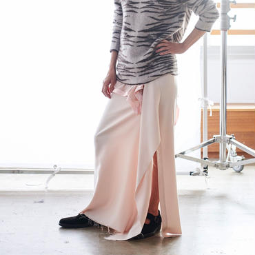 jonnlynx silk wool long skirt