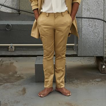 jonnlynx men's    gold silk cotton pants  L ( Tlalli exclusive )