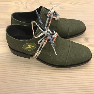 Esquivel Shoes × Nick Fouquet  Vintage French Military Hemp Canvas  US9.5